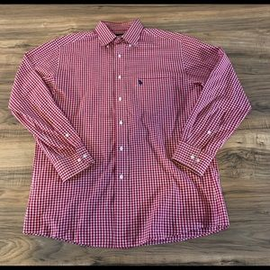 U.S Polo Assn Red Mens Long Sleeve Casual Med.